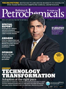 Petrochemicals Middle East Cover